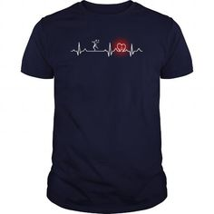 Awesome Tee Handball heart beat 01 Tshirt T-Shirt