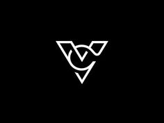 Saved onto Logo design Collection in Branding Category V Logo Design, Monogram Design, Monogram Logo, Graphic Design Typography, Brand Identity Design, Branding Design, Logo Inspiration, Logo Typo, Logo Branding