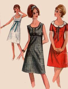 60s Vintage Sewing Pattern Simplicity 5961 MOD by sandritocat, $11.00