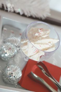 JC Penney Holiday Party - Peppermint Bark by PartiesforPennies.com #christmas #holidays