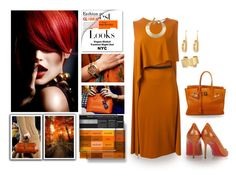 """""""Ginger"""" by terry-tlc ❤ liked on Polyvore featuring MML, Michael Kors, Louis Vuitton, Givenchy, Christian Louboutin, Hermès, Kelly Wearstler, Chloé and Isabel Marant"""