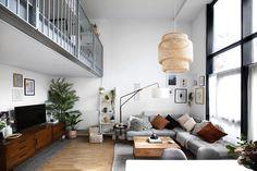 16 Stylish Scandinavian Living Room Ideas that will Transform Your Space - DIY and Craft Ideas & Home Decor Scandinavian Living Room Furniture, Scandinavian Interior Design, Scandinavian Apartment, Living Room Update, My Living Room, Living Room Decor, Small Living Room Design, Living Room Designs, Fixer Upper Living Room