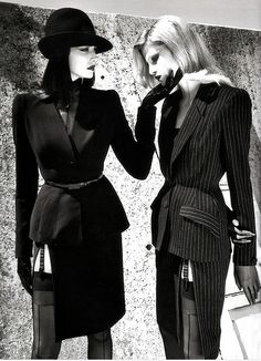 Fashion's Most Wanted: Thierry Mugler by Helmut Newton