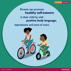 Kids start developing their sense of self as babies when they see themselves through their parents' eyes. Your tone of voice, body language, and every expression are absorbed by your kids. Your words and actions as a parent affect their developing self-esteem more than anything else. :-)