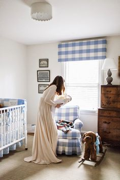 the long and short of it: William's Nursery