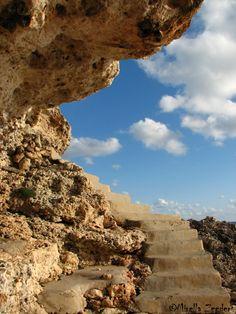 Stairway to heaven, Cala Serena, Mallorca