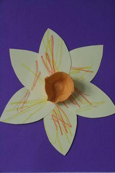 handmade daffodils