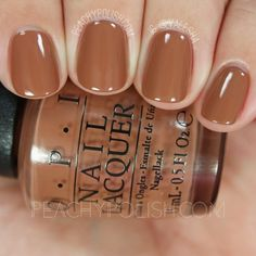 OPI Inside The Isabelletway   Fall 2016 Washington D.C. Collection   Peachy Polish