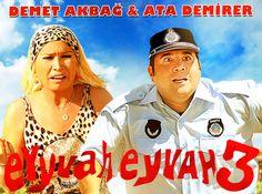 Eyvah eyvah 3 bu akşam sizleri iftar dan sonra eğlendirmeye ve güldürmeye geliyor sakın kaçırmayın.