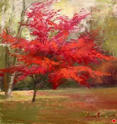 New England Color by Jeanne Rosier Smith Pastel ~ 12 x 12