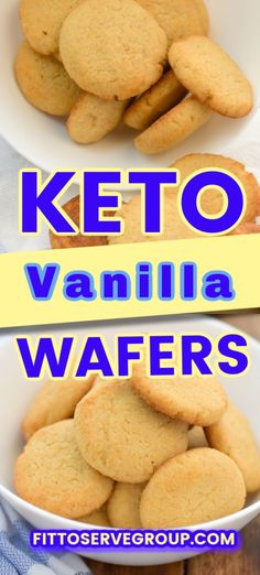 Sugar Free Vanilla Wafers, Sugar Free Pudding, Coconut Flour Cookies, Keto Cookies, Nilla Cookies, Almond Flour, Cookie Diet, Keto Cake, Keto Cheesecake