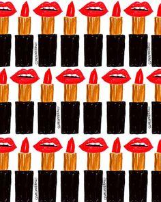 Lips-stick.