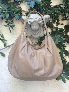 VTG Marni BuTTer SoFt Washed Distressed Leather Hobo Hippie Bag Purse Handbag #Marni #Hobo