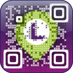 Mobile app LoQon Visual QR Code. Create yours at: www.visualead.com