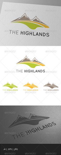 The Highlands Mountain Logo