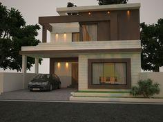 10 Marla Modern Home Design 3d Front Elevation Lahore Pakistan Design Dimentia Eden In 2019