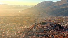 Luca Montanari Photography Celano Italy hdr world architecture buildings cities castle mountains hills sunlight scenic view panorama Palaces, Places To Travel, Places To See, View Wallpaper, Mobile Wallpaper, Mountain Landscape, Aerial View, Paris Skyline, Explore