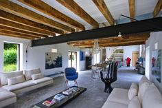 French Barn becomes family home ~ Josephine Gintzburger