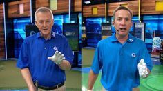 Martin Hall, host of 'School of Golf,' and Michael Breed, host of 'The Golf Fix,' teach drills for driving the ball longer and straighter off the tee. Holly Sonders hosts.