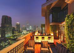 Amazing rooftop bar