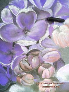 мастер класс пастель поэтапно - Поиск в Google Pastel Flowers, Pastel Drawing, Flower Art, Lilac, Oil Pastels, Drawings, Google, Plants, Art Floral
