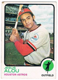jesus alou baseball card | Card #93 -- Jesus Alou, Houston Astros