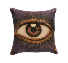 Eye Pillow Cover Burlap   (The Watson Shop)