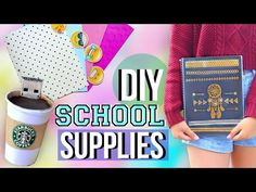 DIY Back to School Supplies and Organization | JENerationDIY - YouTube