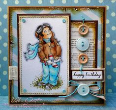 Vili's Art: Мечтател ⊱✿-✿⊰ Follow the Cards and paper crafts board. Visit GrannyEnchanted.Com for thousands of digital scrapbook freebies. ⊱✿-✿⊰