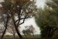 Giuseppe Pellizza da Volpedo - May Morning, 1903 Georges Seurat, Celestial, Drawings, Outdoor, Paintings, Bella, Landscapes, Illustrations, Inspiration