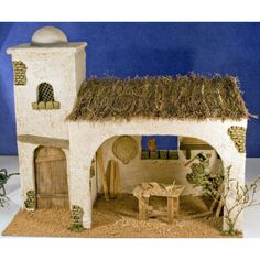 Portal, Antique Christmas, Dremel, Nativity, Christmas Decorations, Xmas, Landscape, Building, Fairy