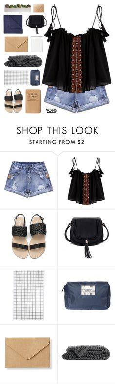 """""""Quiet Often without You I am at Loss for the Day - Yoins I"""" by paradiselemonade ❤ liked on Polyvore featuring Le Chateau, Barbour, Muji and JCPenney Home"""