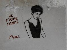 "Quotes about Missing : QUOTATION - Image : Quotes Of the day - Description ""Termopiles"" Paris street Art by Miss Tic Sharing is Caring - Don't forget to Street Wall Art, Urban Street Art, Street Art Graffiti, Urban Art, Land Art, Banksy, Pop Art, Graffiti Artwork, City Art"
