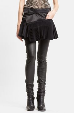 Haider Ackermann Pleated Skirt available at #Nordstrom