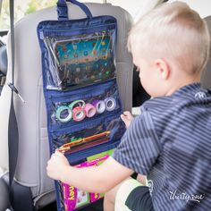 Pack the fun for your next road trip with the Fold-Up Family Organizer!