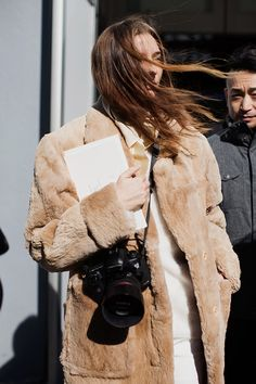 On the Street….Camel Dressing, New York