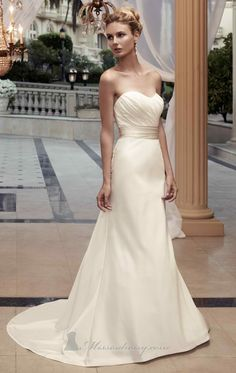 Casablanca '2119' without lace overlay Size 12