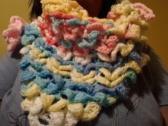 my scarf/shawls I made for me - Crochet creation by Nickey45