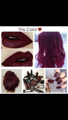 Sort of burgundy maroon colour but I love it