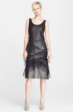 MARC JACOBS Sleeveless Organza Trim Dress available at #Nordstrom