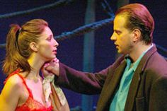 Melissa Paladino and Danny Mastrogiorgio inSailor's Song(Photo © Carol Rosegg)