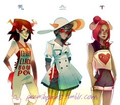 Homestuck Cosplay Designs                                                                                                                                                                                 More