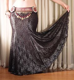 The silver lace mermaid skirt by Creaturre. New choice of fabrics for the mermaid skirt: it hot and online in my etsy store! Mermaid Skirt, Lace Mermaid, Tribal Fusion, Black Laces, Dance Costumes, Skirt Fashion, Costume Ideas, Etsy Store, Dancing
