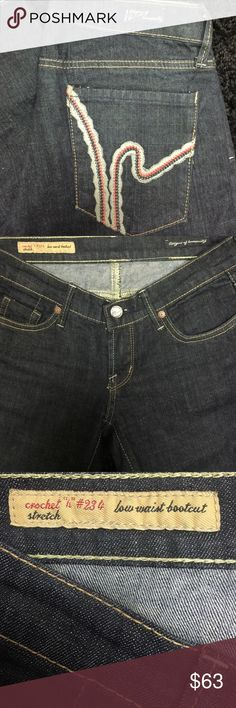 Citizens of Humanity Low waist bootcut stretch Jeans . Great Condition. Citizens of Humanity Jeans Boot Cut