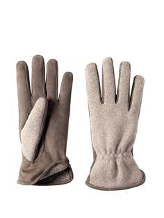 Maglia misto cashmere con sottomano in sued. Foderato in angora o cashmere  100%   6ad2368b44e0