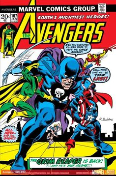 CARTOONIVERSE1 - THE GRIM REAPER! Cover artist: RICH BUCKLER 1973