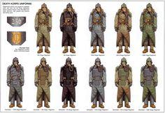 Imperial Guard Death Korp regiments