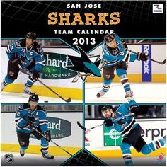 Perfect Timing - Turner 12 X 12 Inches 2013 San Jose Sharks Wall Calendar (8011323) by Perfect Timing - Turner. $13.23. Showcase the stars of your favorite team with this rousing team wall calendars. Player action and school photos with player bio information.. Save 17%!
