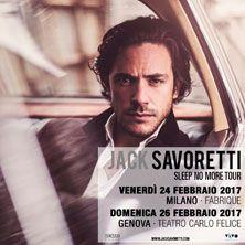 Jack Savoretti, uno dei protagonisti della rinascita del cantautorato britannico, torna in Italia per due appuntamenti. Acquista il tuo biglietto su TicketOne.it!