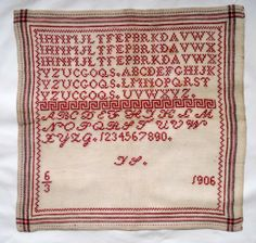 Quilts and Siggies: borduren